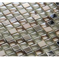 Buy cheap New Best Selling  Atpalas Sourttain Glass, Stone& Stainless Steel Mosaic Tile AGL7039 from wholesalers
