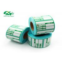 Custom Eco Friendly Thermal Transfer Label Rolls Barcode For Clothes Jewelry Price Label Manufactures