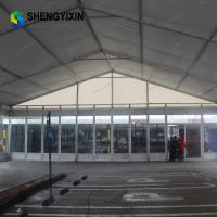 Quality high quality and high strength 6mx9m luxurious aluminum wedding party church tent for sale with white fabric for sale