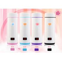 Touch heart cup novelty gifts LED smart vacuum drink bottle Manufactures