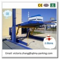 CE Certificates Mini Tilting Two Cars Two Cars Simple Vertical Parking Lift Car Elevator Manufactures