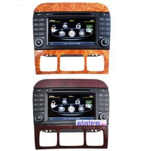 Car Stereo GPS Mercedes Benz Sat Nav DVD for Benz S-Class 7 Inch Screen Manufactures