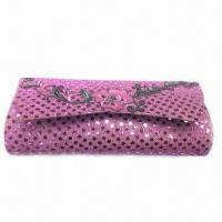 Fashionable Paillette Women's Wallet with Unique Design, Ideal for Gifts and Party Purposes Manufactures