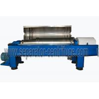 China Sharples Solid Bowl Decanter Centrifuge Equipment for Chicken Manure Dewatering on sale