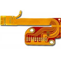 China Yellow Cover Film Flexible PCB Board Double Layer Ultra-thin Silkscreen Prototype on sale