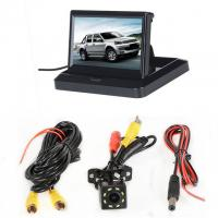 Foldable Design Car Rearview LCD Monitor 5 Display In - Dash Placement Manufactures