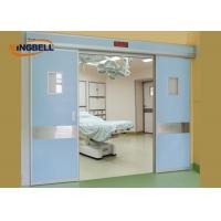 China Double Automatic Sliding Door Optional Knob Handing Medical Microcomputer Control System on sale