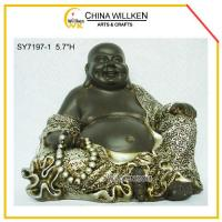 China Polyresin Lucky Buddha Statue for Home Decor on sale