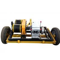 Safe And Reliable Gas Engine Powered Winch With Trailer Can Match Honda Manufactures