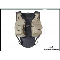 White small inflatable hunting fishing vest pe foam for Inflatable fishing vest