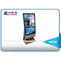 Outdoor Multi Touch Screen Free Standing Kiosk Rotatable LCD Advertising Player Manufactures