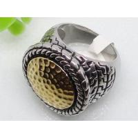 China Golden Stainless Steel Gothic Style Ring 1120477 on sale