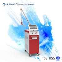 Q Switched Nd Yag Laser Tattoo Removal Machine 1064nm , 532nm For Pigmentation Removal Manufactures