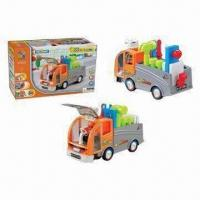 B/O Bump and Go Assembling Construction Vehicle Toy, Made of ABS Material Manufactures