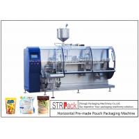 Quality Electric Powder Pouch Packing Machine/ High Accuracy Paste Packaging Machine for sale