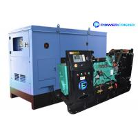 Soundproof 40 Kw Cummins Diesel Generators 50kva Used Standby Generator Set Manufactures