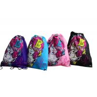 Colorful 75g Unwoven Drawstring Back Bag, Non Woven Carry Bag For Advertising, Gift Manufactures