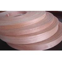 0.3mm - 3.5mm Natural Wood Edge Banding Veneer Sliced Cut Furniture Edge Banding Manufactures