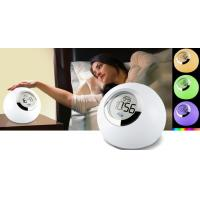 China New style alarm clock LED atmosphere lamp light with touch button design on sale