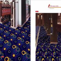 High Density Commercial Grade Carpet Tiles Stars And Moon Design Manufactures