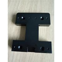 Custom Black Anodized Aluminum CNC Milling Machined Part High Precision CNC turning Enclosures Manufactures