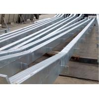Galvanized Commercial Steel Buildings , Steel Structure Large Metal Buildings Manufactures