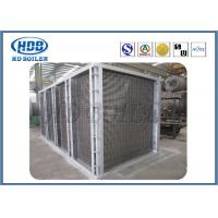 Anti Wind Pressure Tubular Type Air Preheater In Boiler Galvanized Steel ASME standard Manufactures