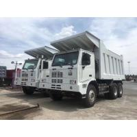 Sinotruk ZZ5507S 6x4 Mining Dump Truck With WD615.47 Engine And HW19710 Transmission Manufactures