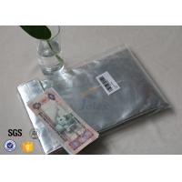 comfortable Glass Fibre Cloth Fire Resistant Document Bag / Fireproof Cash Pouch Manufactures