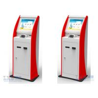Infrared / SAW Touch Screen ATM Kiosk With Webcam Payment Terminal Cash Machine Manufactures