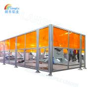 Anodized industrial aluminum Machine Housings and Protective Fences for Increased Occupational Safety Manufactures