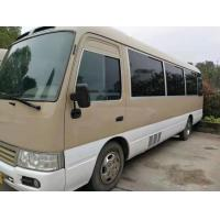 1HZ Diesel Engine Used Original Toyota Coaster Bus 30 Seats Manual Gear Box With AC Manufactures
