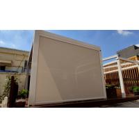 Motorised Garden Waterproof Roller Shades Zipscreen For Swimming Pool Manufactures