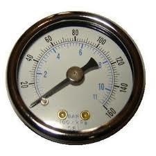 China Air Compressor digital Pressure Gauges, Liquid Filled Pressure Gauge on sale