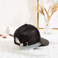 Sports Black Polyester Embroidered Baseball Caps In Autumn Manufactures