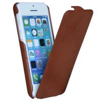 Vertical flip PU leather folio skin cover for Apple iphone 5C, mobile PU leather flip case Manufactures