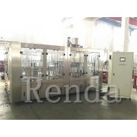 China Automated Hot Tea / Fruit Juice Filling Machine For Liquid Stainless Steel on sale