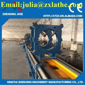 China Light Duty Manual Horizontal Precision Metal Turning Lathe Machine