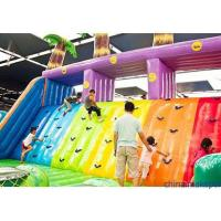 Various Color PVC Material  Inflatable Castle For Many Water Parks Manufactures