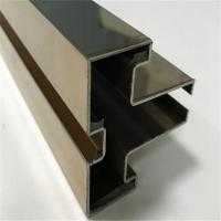 Quality customized shaped profile iron stainless steel channel with mirror or hairline for sale