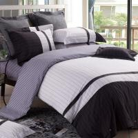 Double Printing Neutral Bedding Sets Luxury For Women 40S