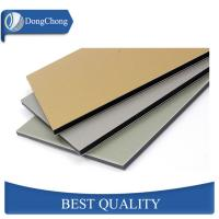 China Color Painted Aluminium Alloy Composite Panel 6000mm Long ACP Plate For Wall on sale