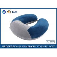 Colorful Portable Memory Foam Travel Neck Pillow With Innovational Cover