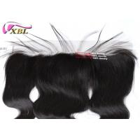 Brown Lace 13x4 Pre-Plunked Frontal With Hairline And Body Hair Frontal Closure Manufactures