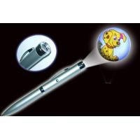China New various design logo led promotion product Projector pen on sale