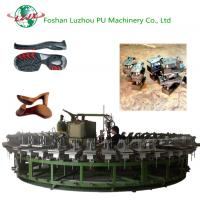 PU Rotary Pouring Semi-automatic Outsole Insole Making Safety Sports Shoe Machinery Manufactures