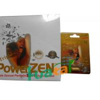 China Herbal Triple Powerzen Gold Male Enhancement for Libido Increase Sexual Confidence on sale