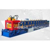 Corrugated Iron Purlin Roll Forming Machine For Making Stadium Roof Sheet