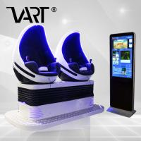 Fantastic View 9D Virtual Reality Game Machine With 42 Inch Touch Screen Manufactures