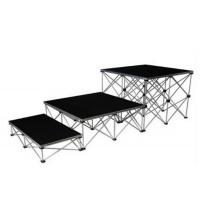 Folding Aluminum Stage Platform Collapsible Convenient 200mm - 800mm Height for sale